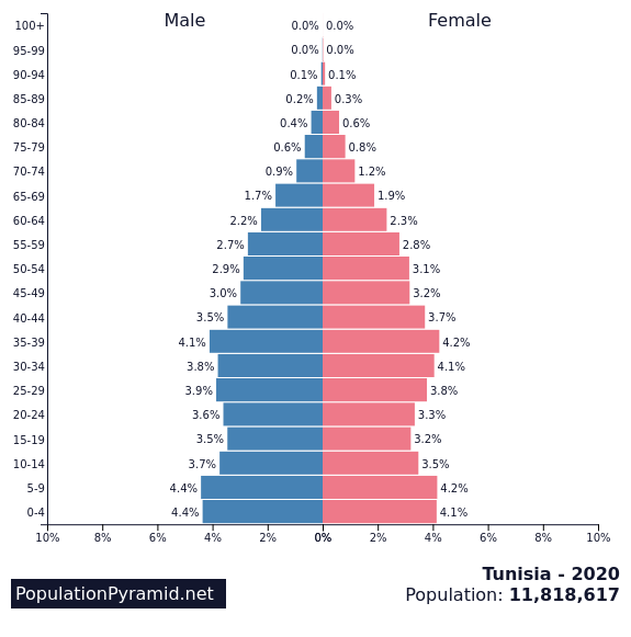 Tunisia Demographics